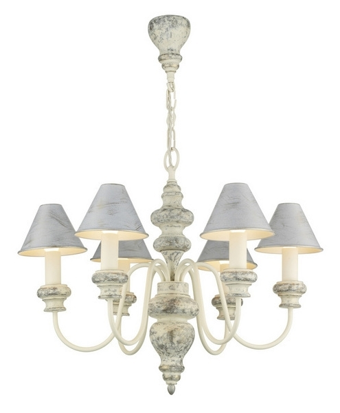 Cream Chandelier Lights Pertaining To Well Liked David Hunt Lighting Ver0612/ag11 Verona 6 Light Cream Chandelier (View 4 of 10)