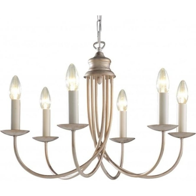 Cream Gold Chandelier In Most Popular Ceiling Light For High Ceilings Bermuda Large Cream & Gold Chandelier (View 2 of 10)