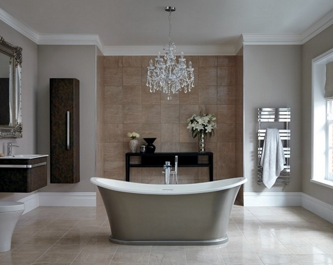 Featured Photo of Crystal Bathroom Chandelier