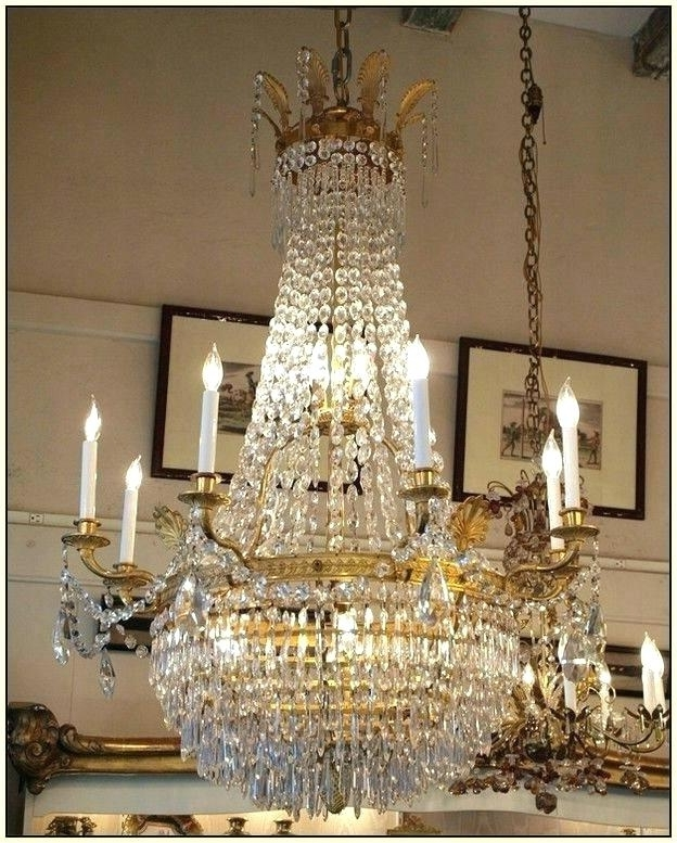 Crystal Chandeliers Ebay And French Crystal Chandeliers Ebay Uk 217 With Well Liked French Crystal Chandeliers (View 8 of 10)