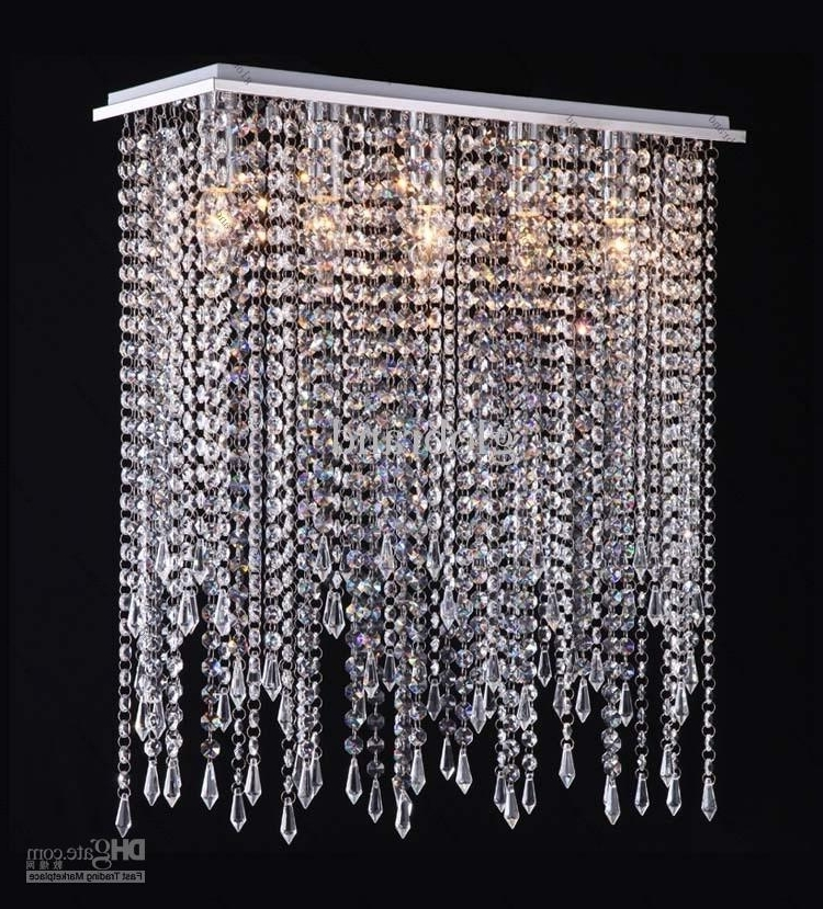 Crystal Chandeliers In 2018 Modern Crystal Chandelier Lighting Crystal Drop Pendant Lamp For (View 10 of 10)