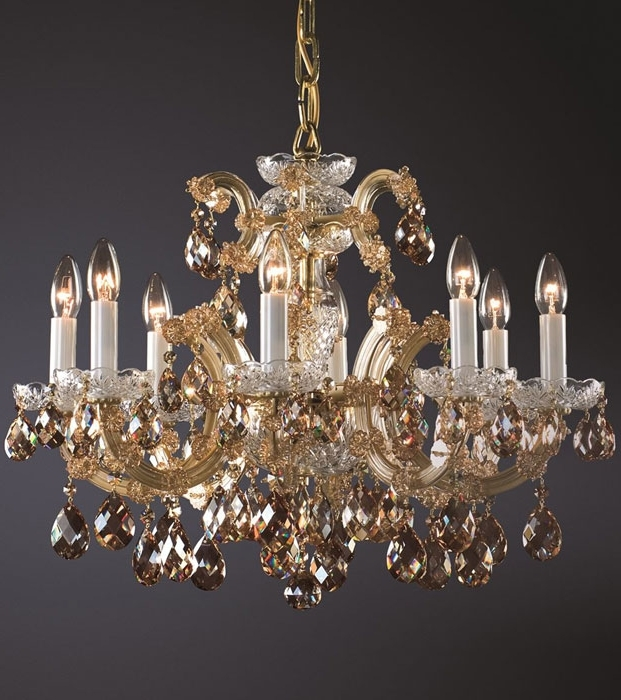 Crystal Gold Chandelier With Widely Used Maria Theresa Chandelier And Maria Theresa Crystal Chandelier (View 9 of 10)
