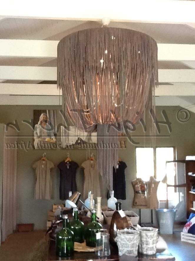 Current High Thorn – Inspirations – Handmade In South Africa – Lighting Regarding Leather Chandeliers (View 1 of 10)