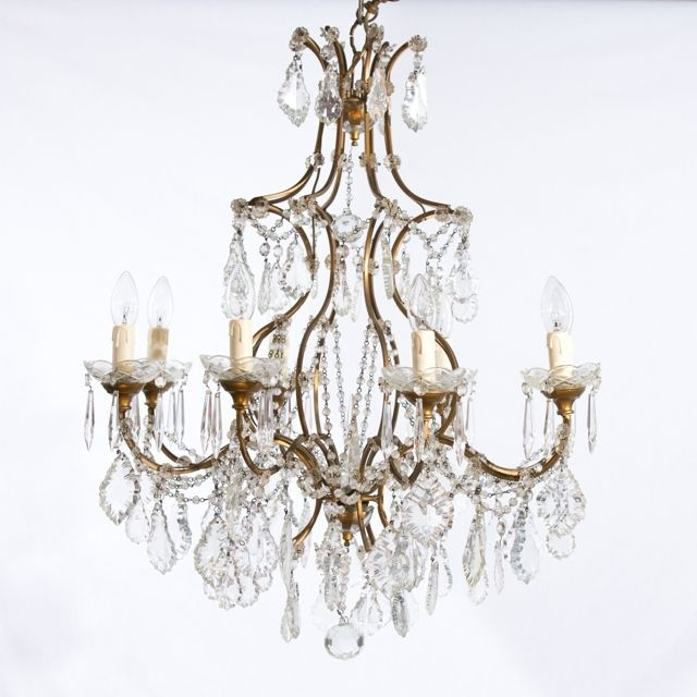 Current Home Design : Pretty Vintage French Chandelier Chandeliers 03 Home Intended For French Chandeliers (View 2 of 10)