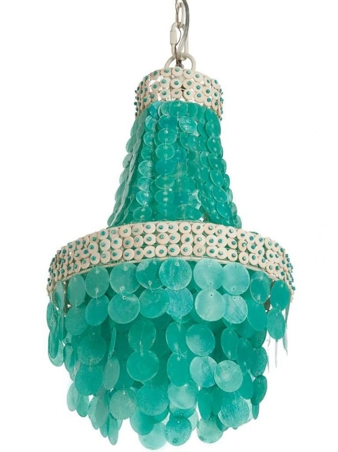 Current Home Design : Turquoise Chandelier Light Turquoise Chandelier Light Throughout Large Turquoise Chandeliers (View 1 of 10)