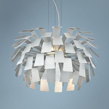 Current Retro Chandelier (View 6 of 10)