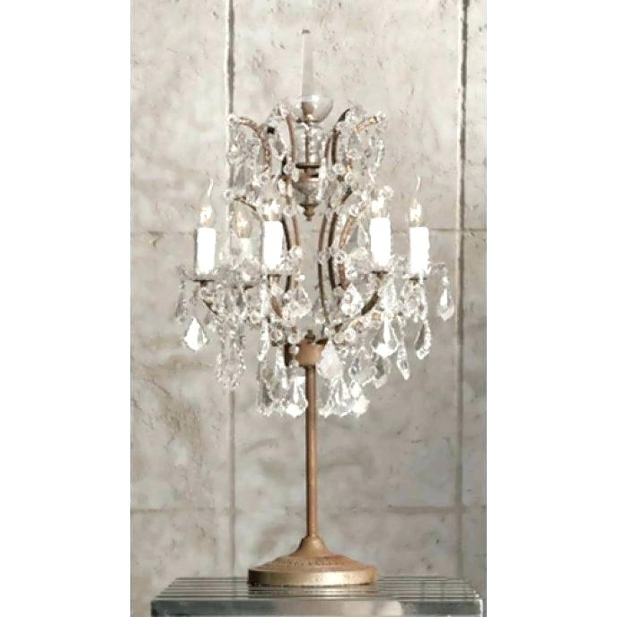 Current Small Chandelier Table Lamp Tadpoles Mini Chandelier Table Lamp  Pertaining To Mini Chandelier Table Lamps