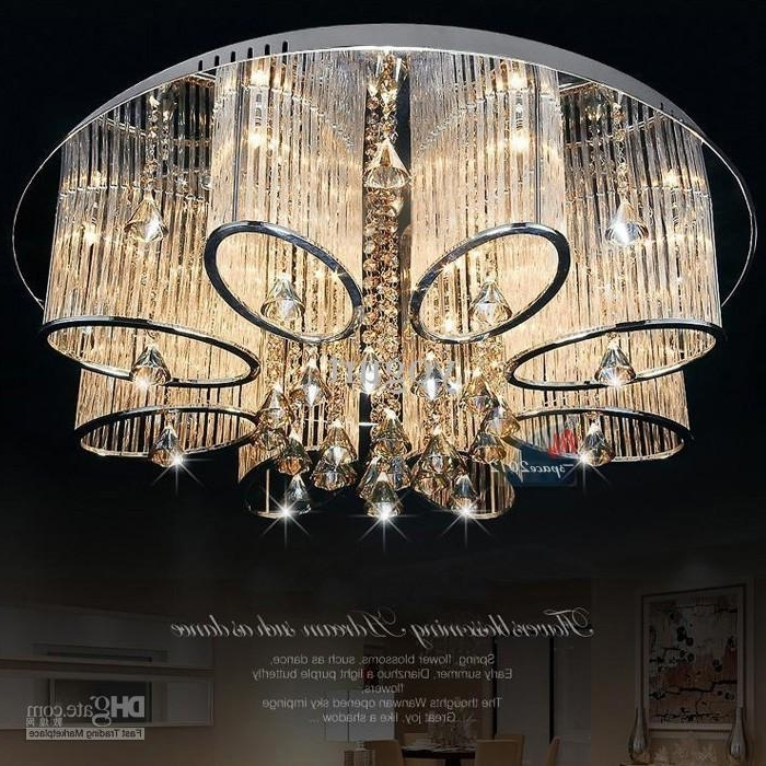 Current Stock In Us New Modern Chandelier Living Room Ceiling Light Lamp For Modern Chandeliers For Low Ceilings (View 2 of 10)