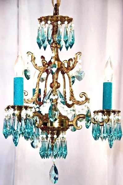 Current Turquoise Chandelier Light Turquoise Chandelier Lamp Shades – Pinkfolio In Turquoise Chandelier Lamp Shades (Gallery 5 of 10)