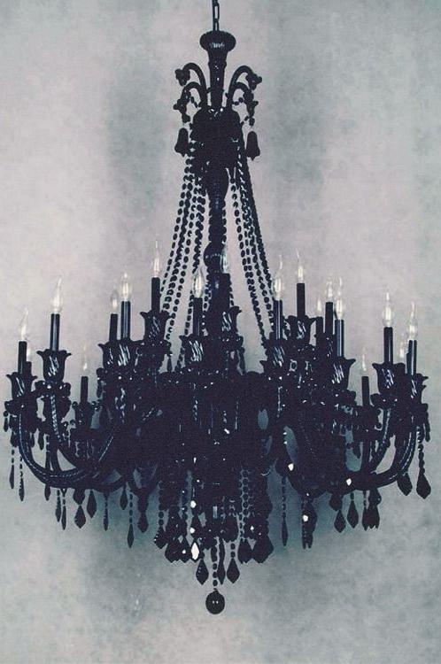 Dayday With Regard To Trendy Black Gothic Chandelier (View 5 of 10)