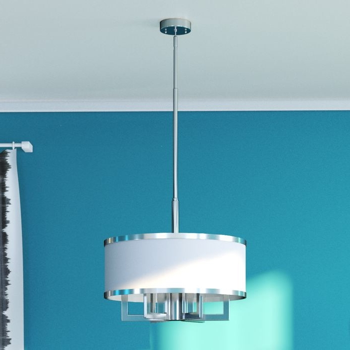 Drum Chandelier, Drums And Chandeliers Throughout Widely Used Turquoise Drum Chandeliers (Gallery 7 of 10)