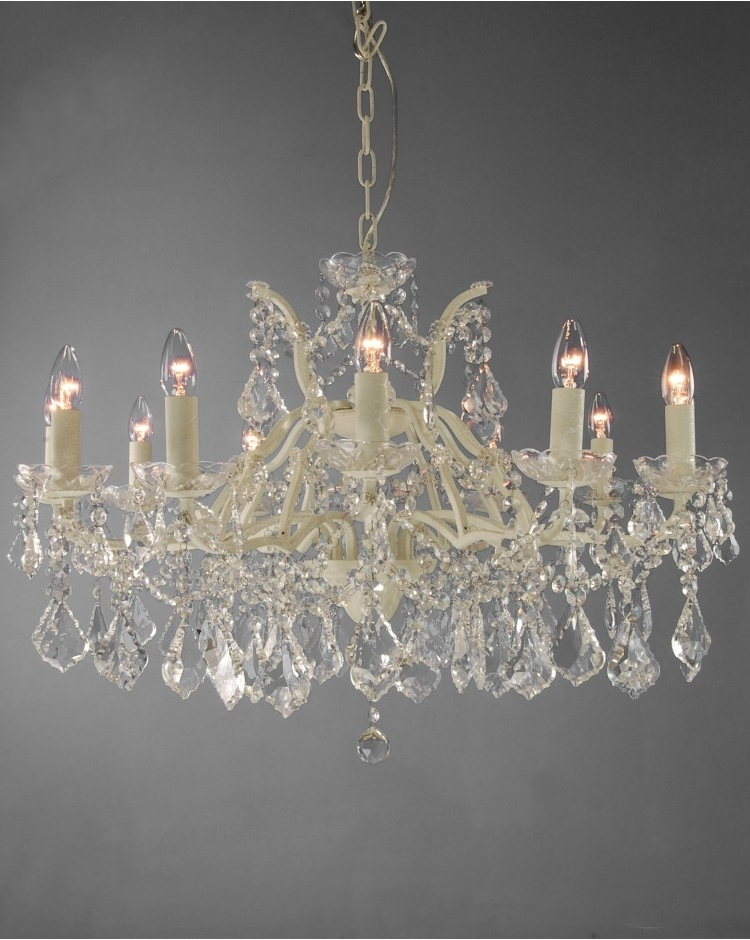 Featured Photo of Cream Crystal Chandelier