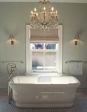 Electricity And Bathroom Chandeliers (Gallery 6 of 10)