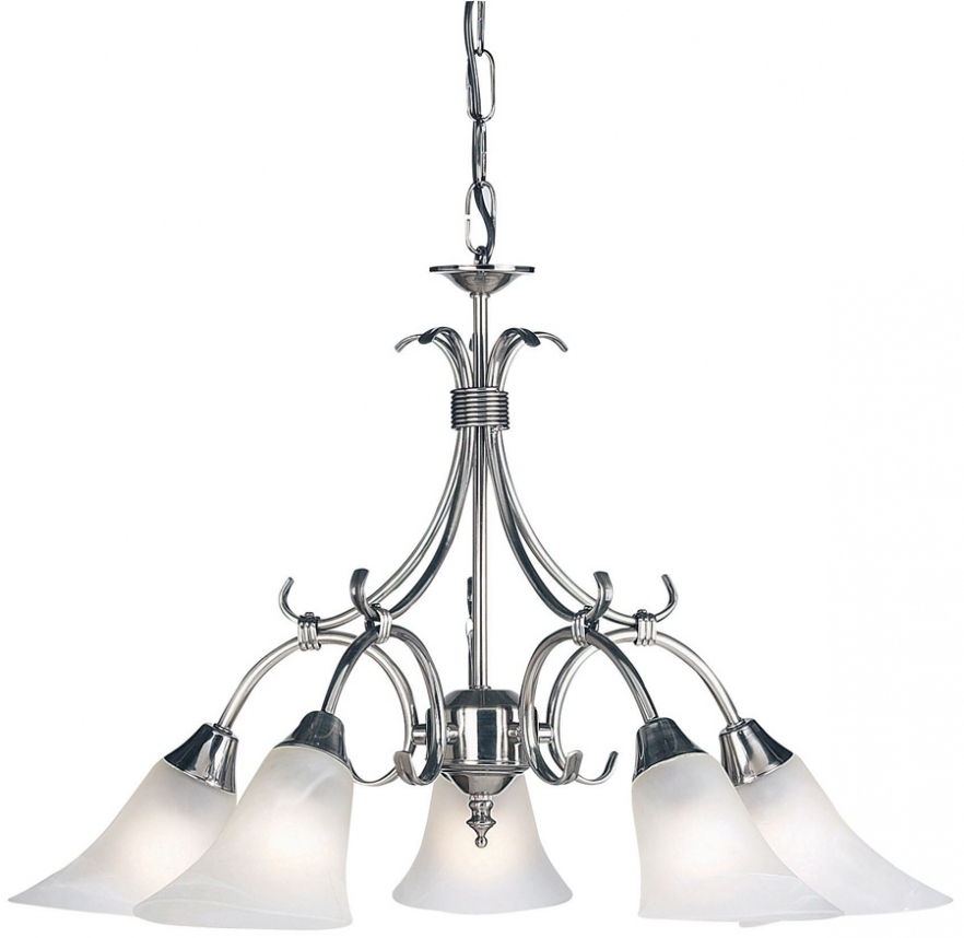 Endon Lighting Chandeliers Regarding Fashionable Chandelier ~ Antique Silver 5 Lamp Dual Mount Ceiling Light 144 5As (View 7 of 10)