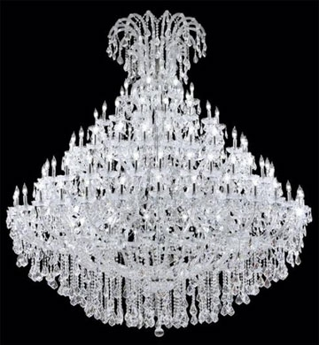 Expensive Crystal Chandeliers Within Preferred Chandiliers (View 6 of 10)