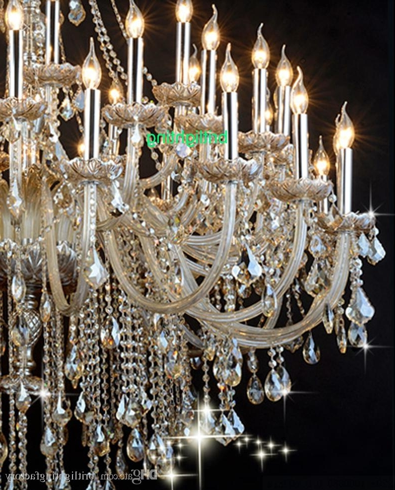 Extra Large Crystal Chandeliers In 2018 Large Crystal Chandeliers – Bellenus Collection Extra Large (View 10 of 10)