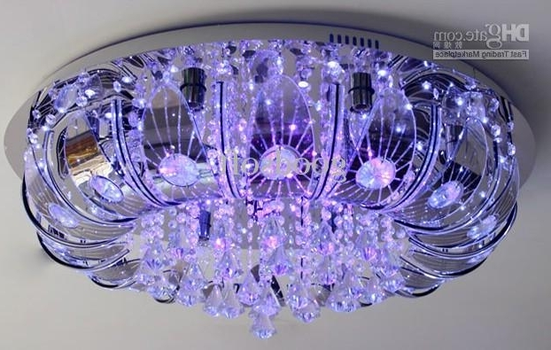 Extraordinary Remote Control Chandeliers At Color Changing Led Regarding Latest Remote Controlled Chandelier (Gallery 2 of 10)