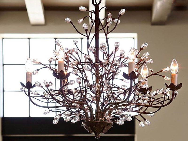 Fall Home Inside Latest Branch Chandeliers (View 4 of 10)