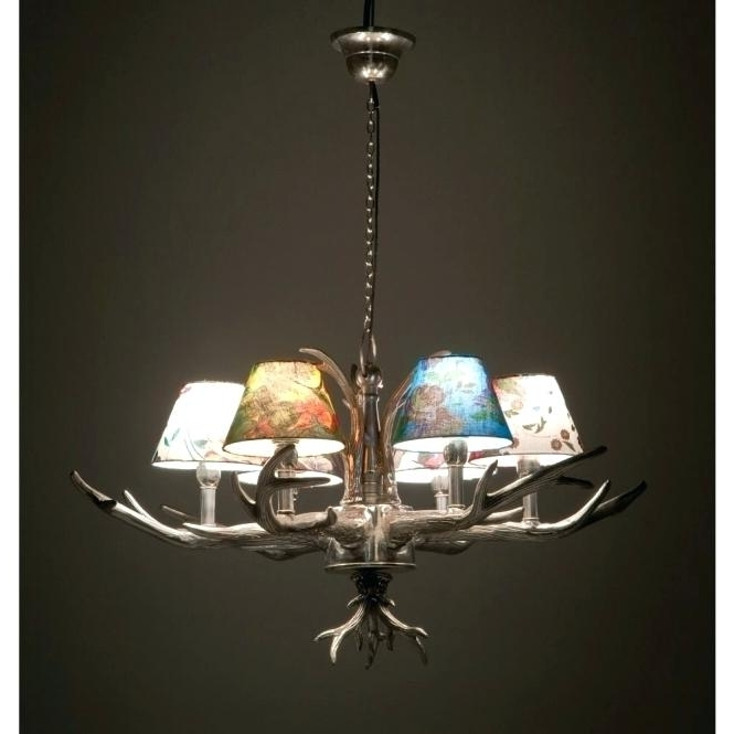 Famous Branched Chandelier Pertaining To Branched Chandelier Plus Antler 6 Branched Chandelier Pendant Lamp (View 6 of 10)