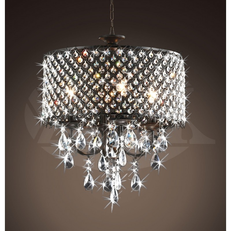 Famous Bronze And Crystal Chandelier (View 5 of 10)