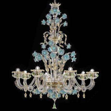 """Famous Glass Chandeliers Inside Celeste"""" Murano Glass Chandelier – Murano Glass Chandeliers (View 2 of 10)"""