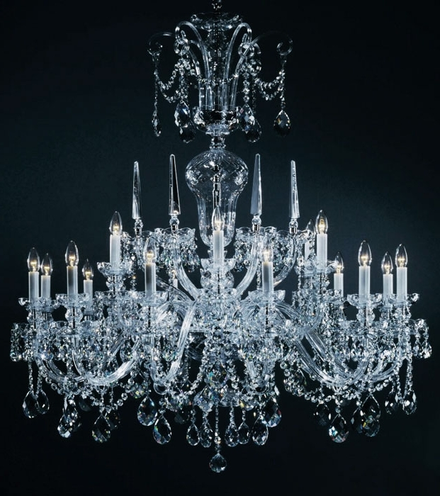 Famous Lead Crystal Chandelier Regarding Bohemian Chandeliers And Large Bohemian Crystal Chandeliersr (View 10 of 10)