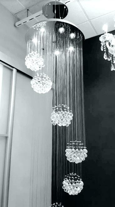 Famous Long Hanging Chandeliers Intended For Hanging Crystal Chandeliers – Futuresharp (View 1 of 10)