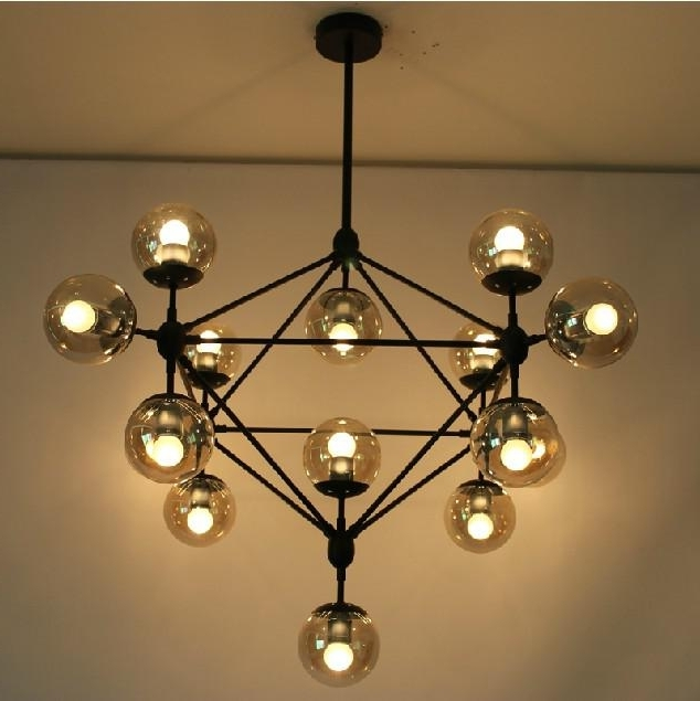 Featured Photo of Modern Glass Chandeliers