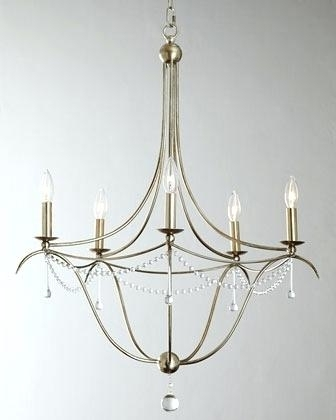Famous Simple But Elegant Chandeliers Elegant Chandelier In Warm Dining With Regard To Simple Glass Chandelier (View 3 of 10)