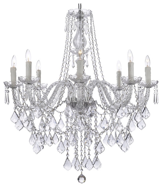 Featured Photo of Traditional Crystal Chandeliers