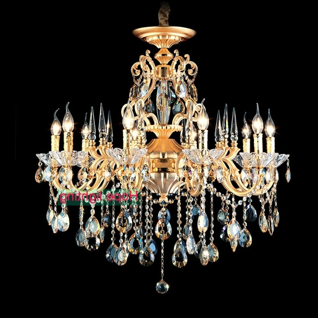 Fashionable Bohemian Crystal Chandelier Traditional Vintage Chandeliers Bronze With Chandeliers Vintage (View 6 of 10)