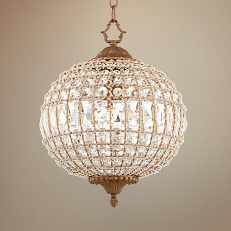 Featured Photo of Crystal Globe Chandelier
