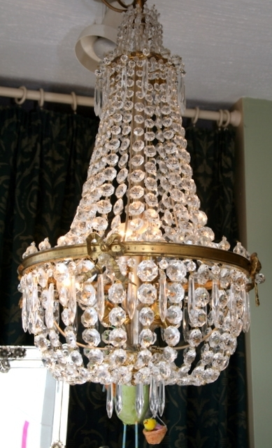 Fashionable Edwardian Chandeliers Regarding Pair Of Stunning Large Edwardian Chandeliers (View 2 of 10)