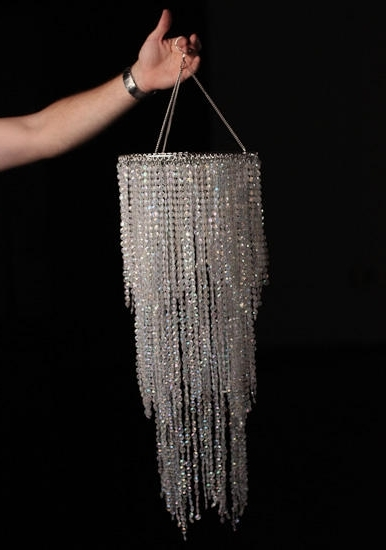 Fashionable Fancy Party Chandelier Decoration Simply Elegant Faux Crystal Regarding Faux Crystal Chandelier Centerpieces (Gallery 8 of 10)