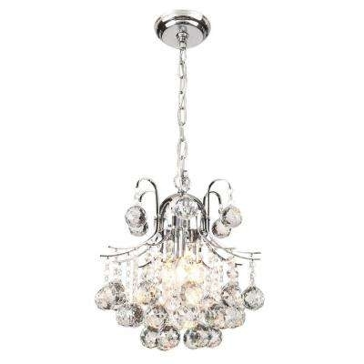 Fashionable Glam – No Additional Accessories – Mini – Chandeliers – Lighting With Regard To Chandelier Accessories (View 4 of 10)