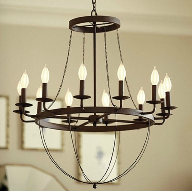 Fashionable Metal Chandeliers With Chandelier (View 2 of 10)