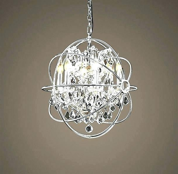 Fashionable Mini Crystal Chandeliers Regarding Small Crystal Chandeliers Chandelier Property Pertaining To 18 # (View 10 of 10)