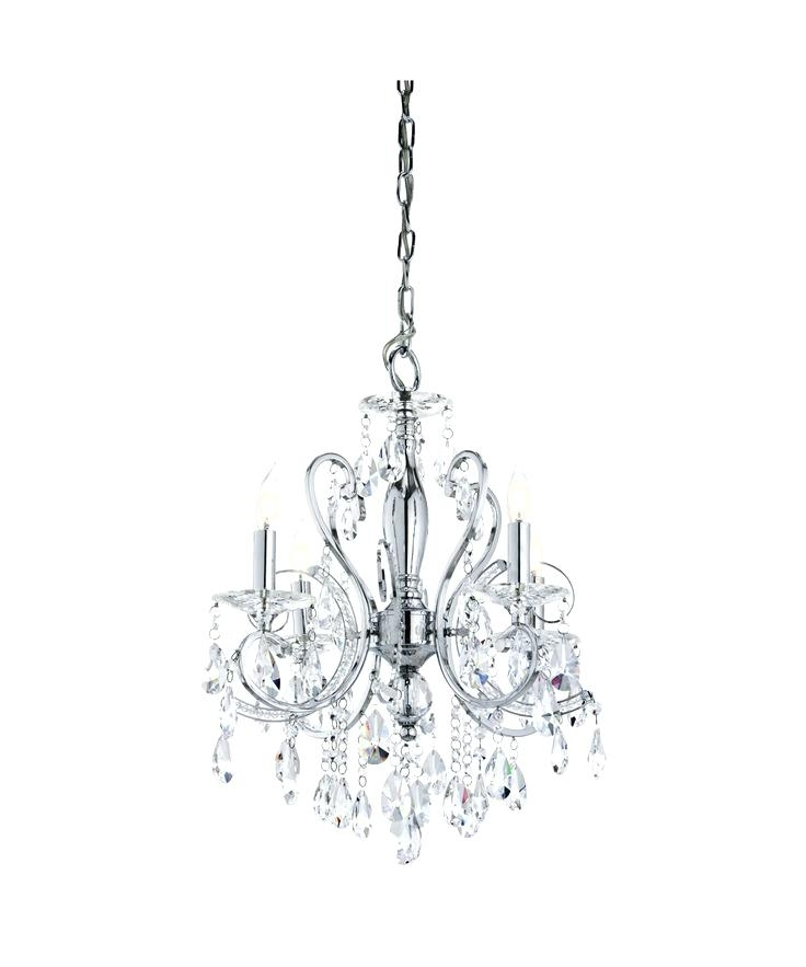 Fashionable Small Chrome Chandelier With Small Chrome Chandelier Nice Mini Chandelier For Bathroom 7 Mini (View 3 of 10)