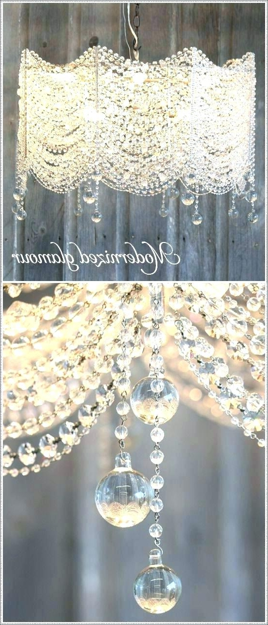 Faux Crystal Chandelier Ceilg Faux Crystal Chandelier Centerpieces With Regard To Current Faux Crystal Chandelier Centerpieces (Gallery 4 of 10)