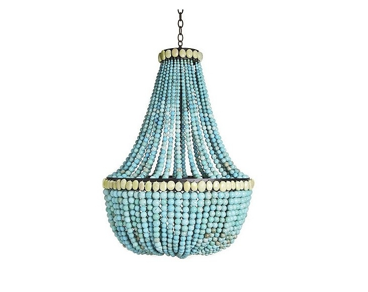 Featured Photo of Large Turquoise Chandeliers