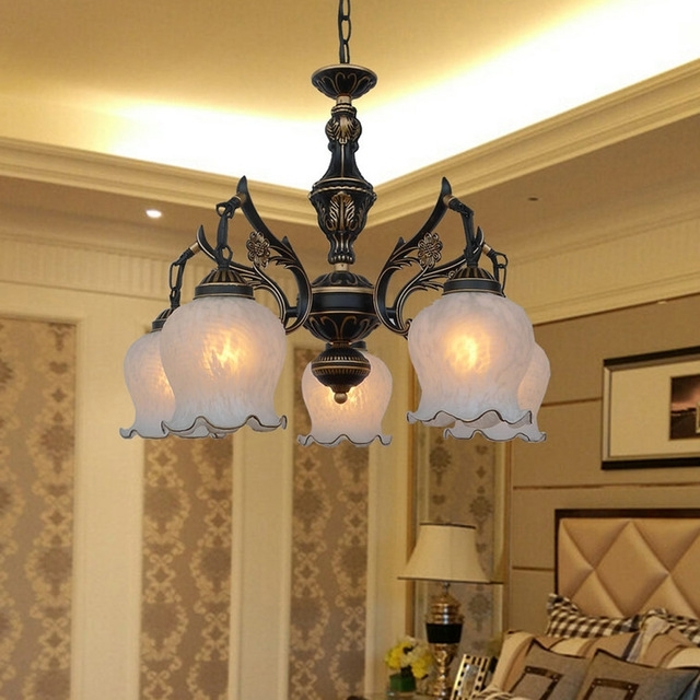 Favorite High Quality Loft Style Suspension Retro Chandeliers 110V/220V E27 With Regard To Retro Chandeliers (View 2 of 10)