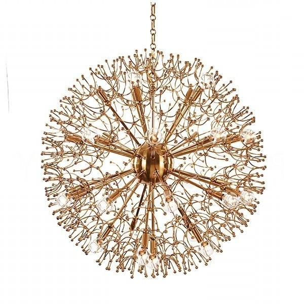 Favorite Large Brass Globe Chandelier Intended For Large Globe Chandelier (View 2 of 10)