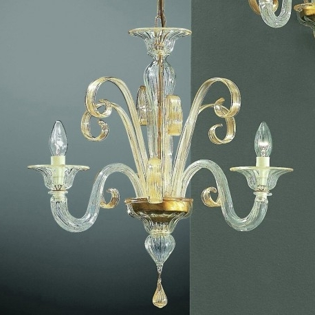 "Favorite Small Glass Chandeliers In Goldoni"" Small Murano Glass Chandelier – Murano Glass Chandeliers (View 2 of 10)"