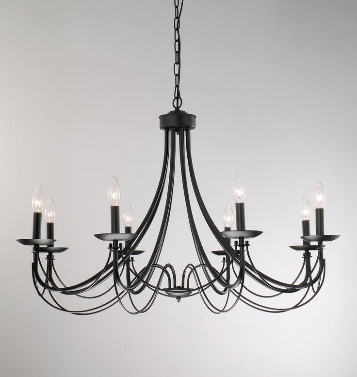 Favorite Vintage Black Chandelier Cool Light Wrought Iron With Chandeliers Intended For Vintage Black Chandelier (View 4 of 10)