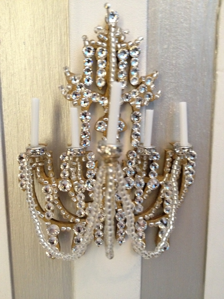 Favorite Wall Mounted Candle Chandelier – Musethecollective Intended For Wall Mounted Candle Chandeliers (View 9 of 10)