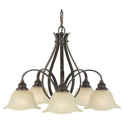 Feiss Chandeliers Regarding Current Feiss – Empire – Chandeliers – Lighting – The Home Depot (View 7 of 10)