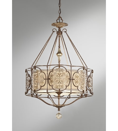 Feiss F26973brbobz Marcella 3 Light 21 Inch British Bronze And Feiss Throughout Latest Feiss Chandeliers (View 5 of 10)