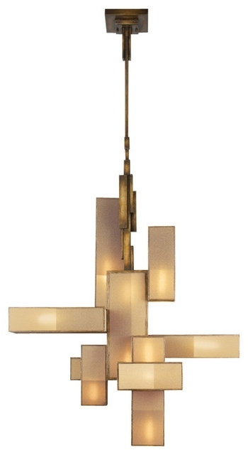 Fine Art Lamps Perspectives Chandelier 732040 Modern For Awesome Throughout 2018 Bronze Modern Chandelier (View 2 of 10)