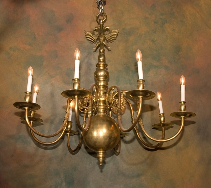 Featured Photo of Flemish Brass Chandeliers