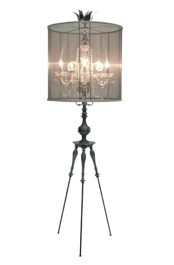 Floor Standing Chandelier Lamp Medium Size Of Chandeliers Tall Lamps For Well Known Tall Standing Chandelier Lamps (View 8 of 10)